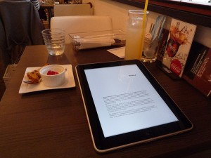 iPad Lunch