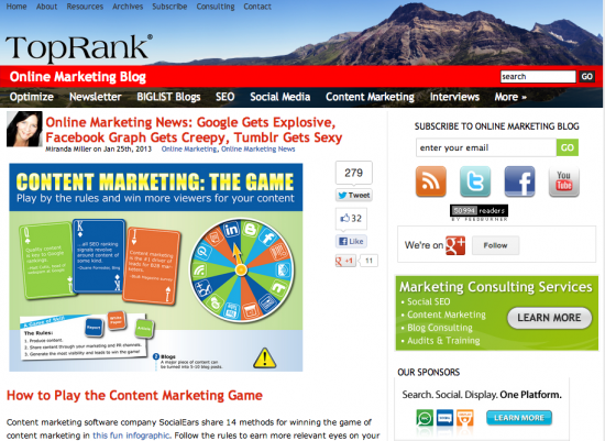 Best Business Blogs Top Rank Blog