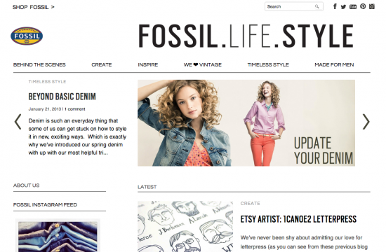 Fossil Blog