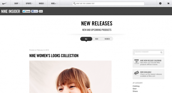 Nike Blog