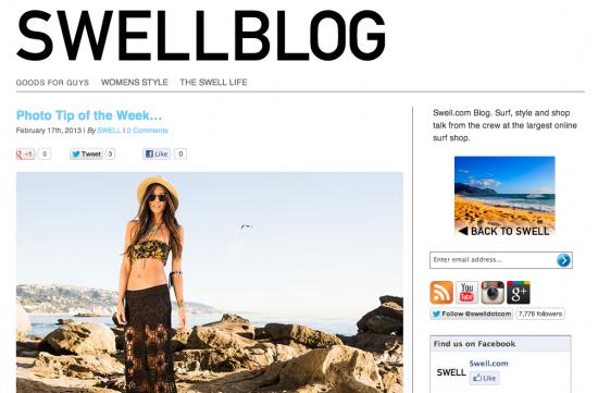 Swell Blog