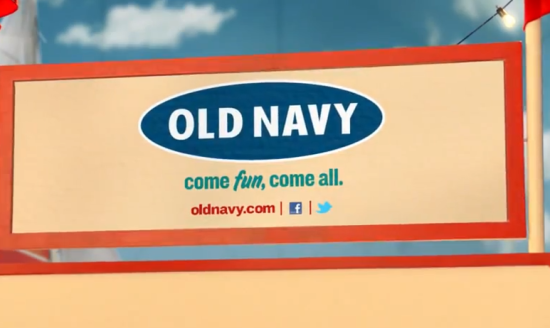 Old Navy Social Icons