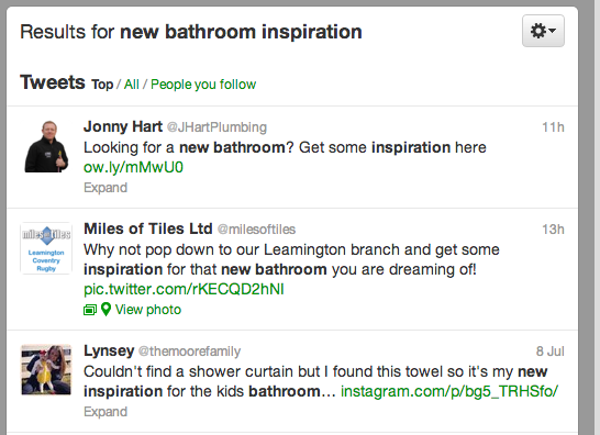 Twitter Bathroom Inspiration