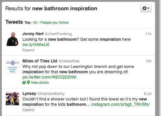 Twitter Bathroom Inspiration