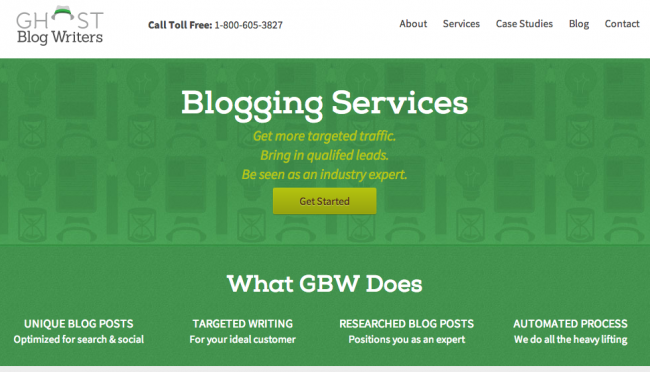 GBW Redesign Homepage