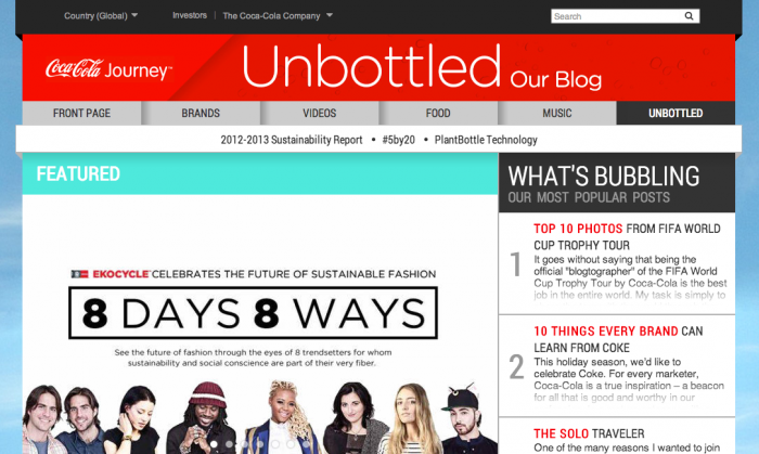 7 - Coke Unbottled