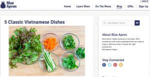Blue Apron Startup Blog