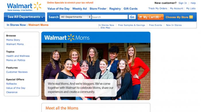 1 - Walmart Moms