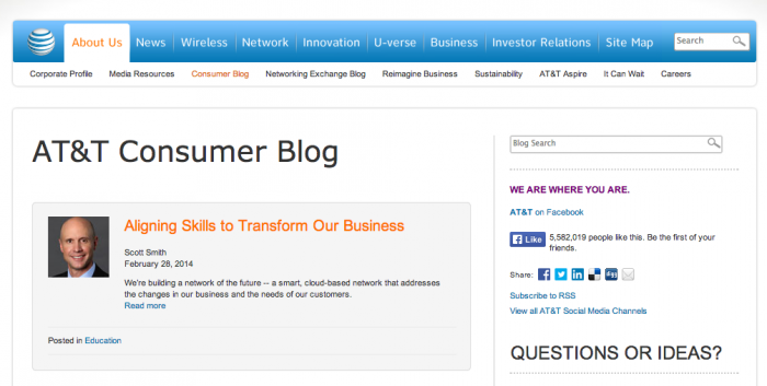 5 - ATT Consumer Blog