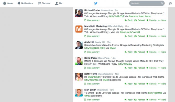 Twitter Keyword Finder