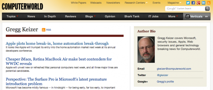 Industry Author Page