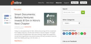 Nitro Blog Analysis