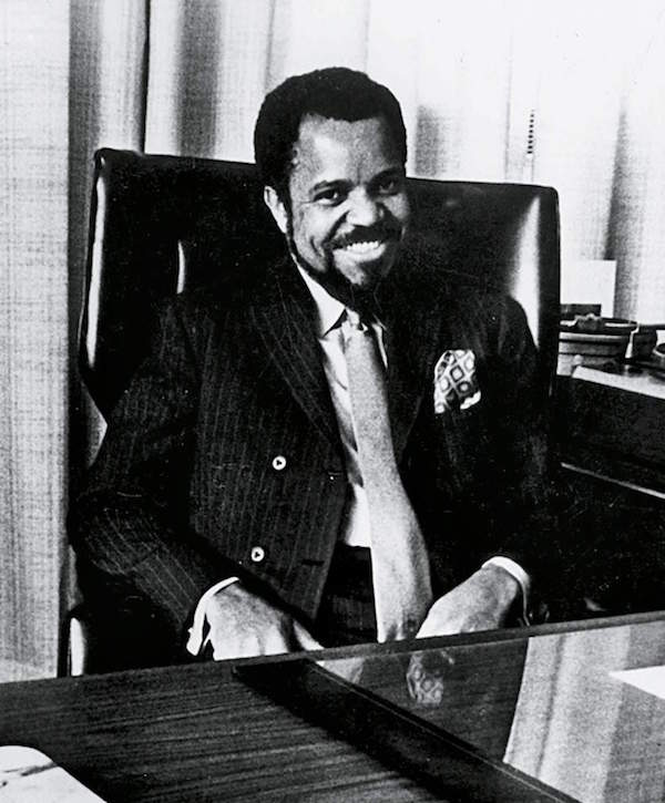 Berry Gordy Desk