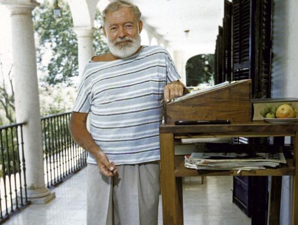 Ernest Hemingway Desk