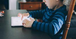 Kid Learning on iPad