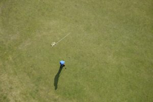 Golf Overhead View