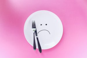 Sad Face On A Plate