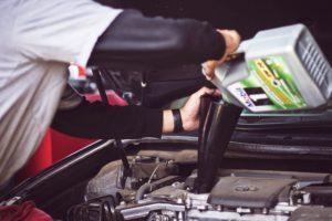 Car Mechanic Oil Change