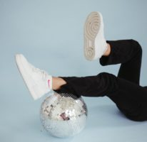 Kicking Back Disco Ball