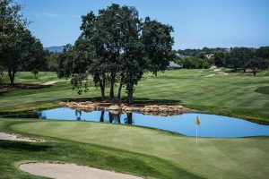Golf Hole With Water