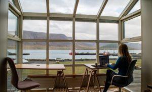 Working In Window Room